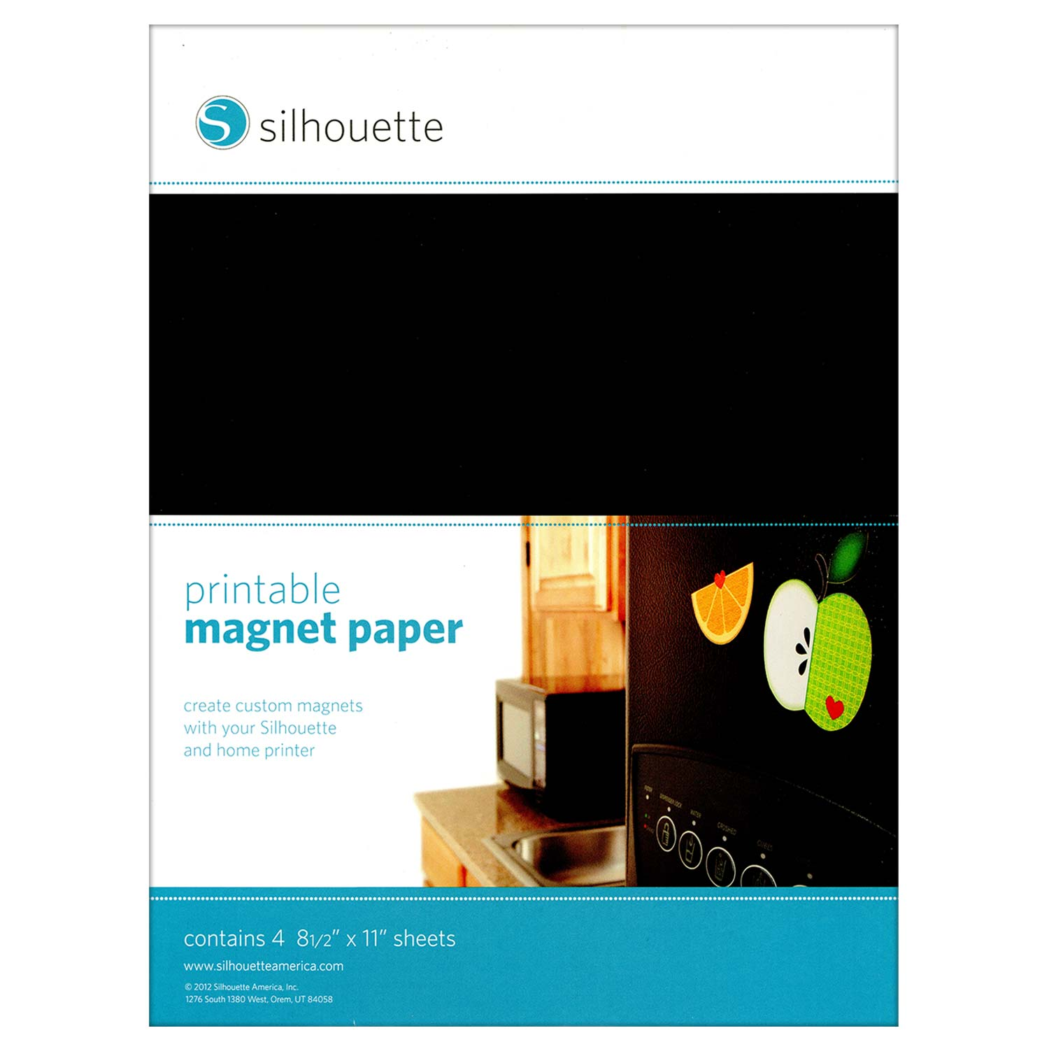 Soft image within printable magnet paper