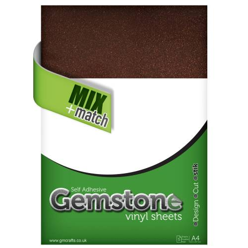 Aventura Gemstone A4 Vinyl Sheets