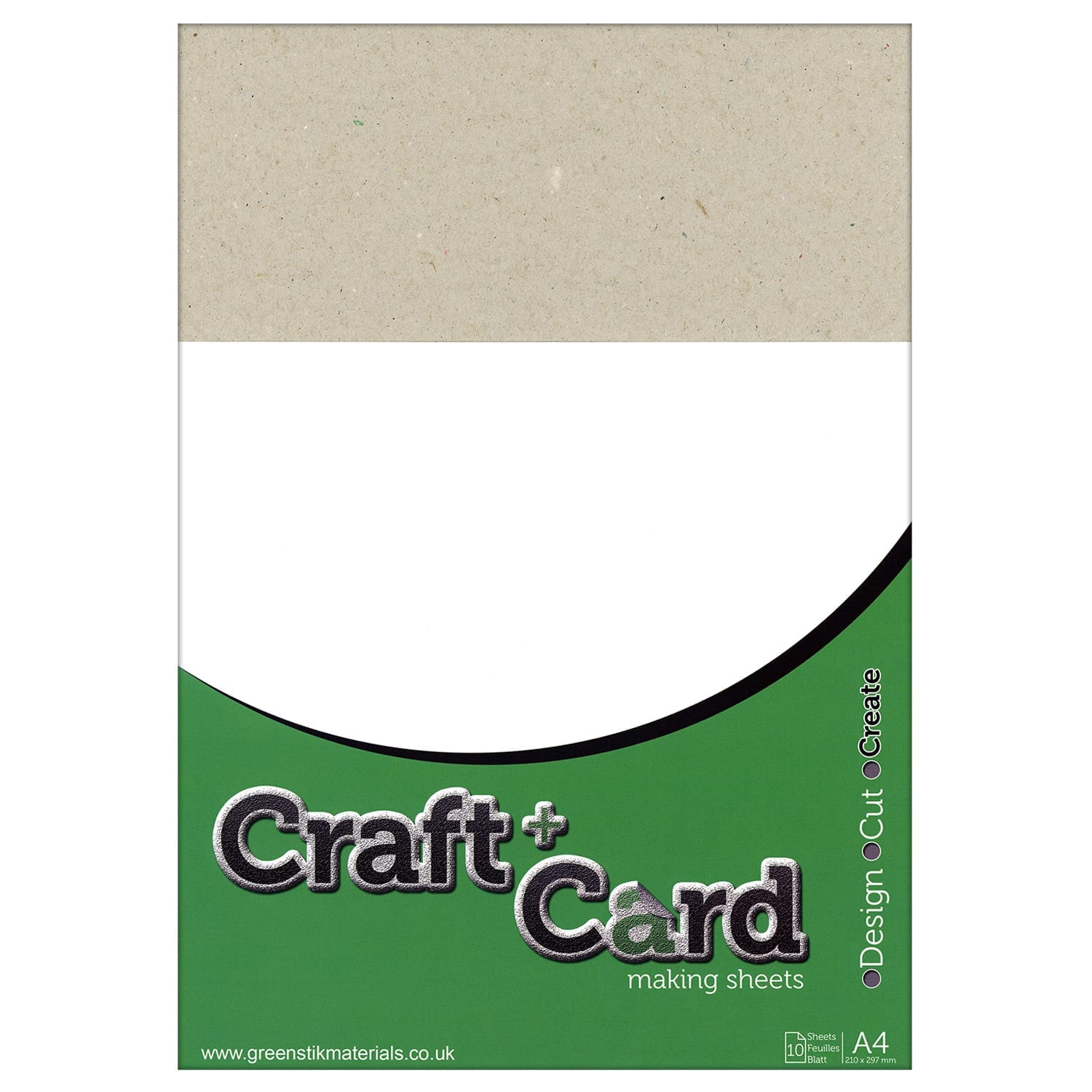 10 X 465 Gsm A4 Greyboard Sheets Gm Crafts