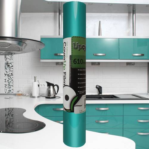 Aqua Green Gloss Upcycle Film