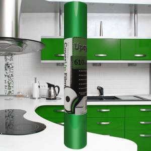 Bright Green Gloss Upcycle Vinyl Film