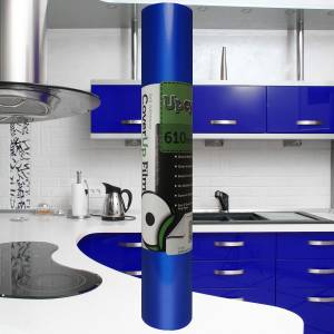 Brilliant Blue Gloss Upcycle Vinyl Film