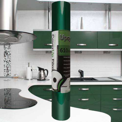 Forest Green Gloss Upcycle Vinyl Film