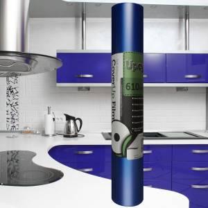 Ultra Blue Matt Self Adhesive Upcycle Film