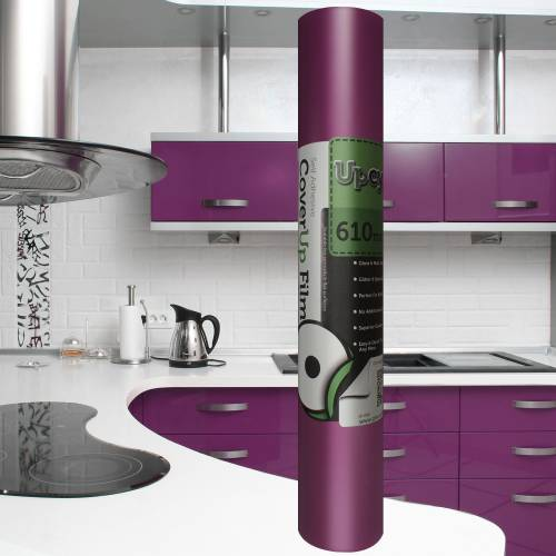 Violet Matt Self Adhesive Upcycle Film