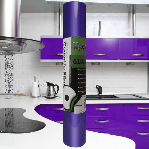 Perfect Purple Gloss Upcycle Vinyl Film