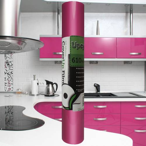 Pink Gloss Upcycle Vinyl Film