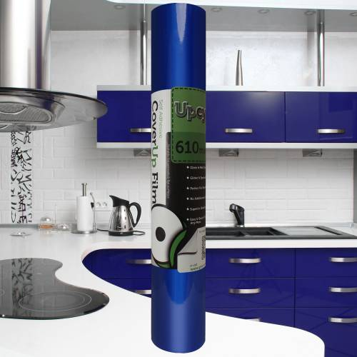 Ultra Blue Gloss Upcycle Vinyl Film