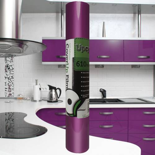 Violet Gloss Upcycle Vinyl Film