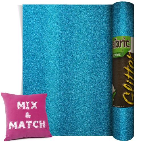 Poli-Flex Pearl Glitter Blue 220mm x 500mm