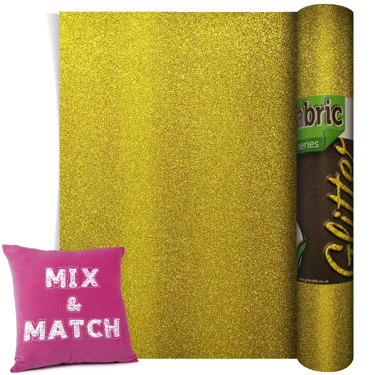 Gm Pearl Glitter Gold 500mm X 1m Gm Crafts