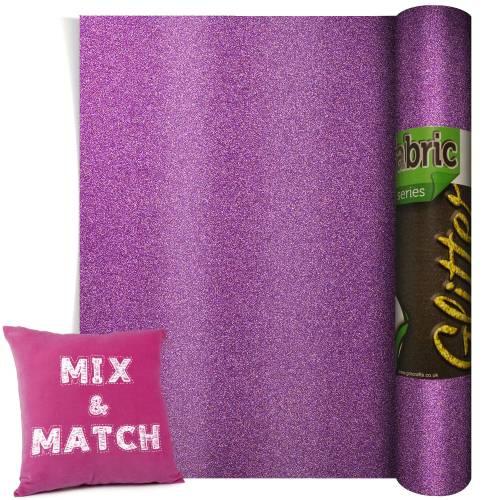 Poli-Flex Pearl Glitter Lavender 220mm x 500mm