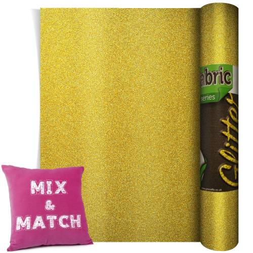 Poli-Flex Pearl Glitter Light Gold 220mm x 500mm