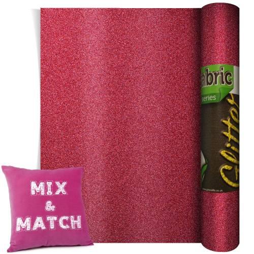 Poli-Flex Pearl Glitter Pink 220mm x 500mm