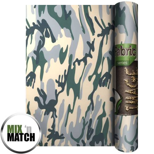 Fashion HTV Camouflage
