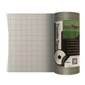 203mm Clear Gridded Vinyl Application Tape From GM Crafts