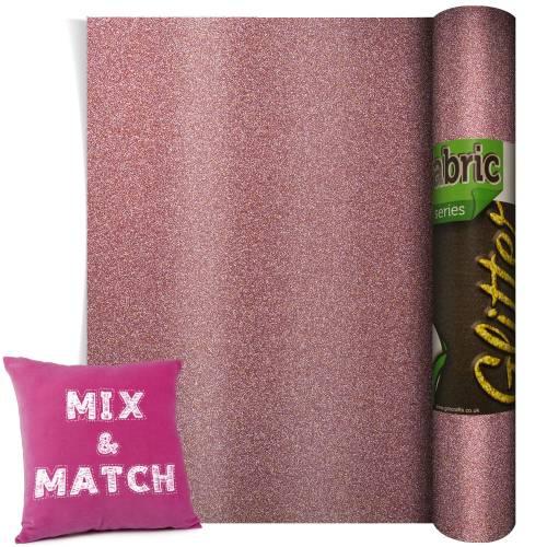 Dusky Pink Glitter HTV