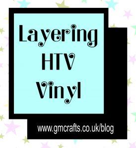 Layering vinyl title