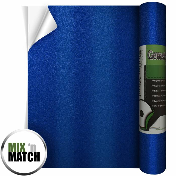 Cobalt Blue Gemstone Vinyl From GM Crafts