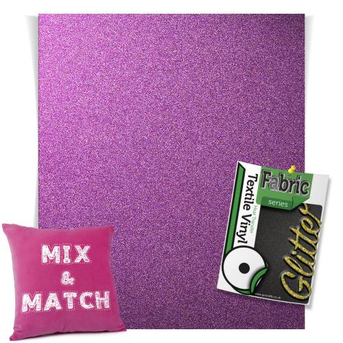 Lavender HTV Glitter Sheets From GM Crafts