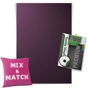 Aubergine Pick & Mix Premium Coloured HTV Textile Sheets From GM Crafts