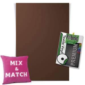 Brown Pick & Mix Premium Coloured HTV Textile Sheets From GM Crafts