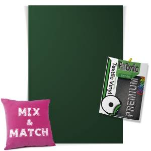Forest Green Pick & Mix Premium Coloured HTV Textile Sheets From GM Crafts