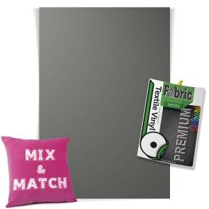 Grey Pick & Mix Premium Coloured HTV Textile Sheets From GM Crafts