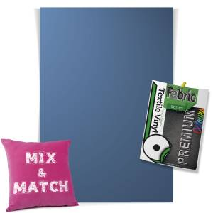 Lilac Pick & Mix Premium Coloured HTV Textile Sheets From GM Crafts