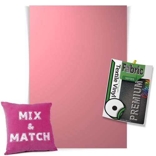 Magenta Pick & Mix Premium Coloured HTV Textile Sheets From GM Crafts