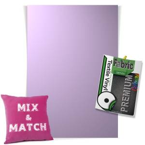 Violet Pick & Mix Premium Coloured HTV Textile Sheets From GM Crafts