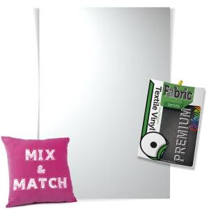 White Pick & Mix Premium Coloured HTV Textile Sheets From GM Crafts