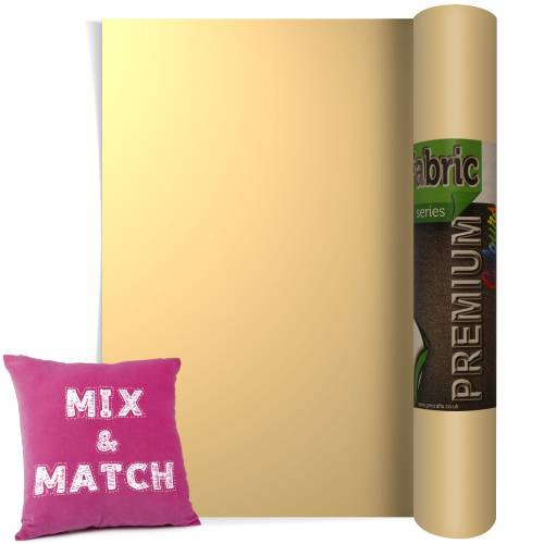 Beige Premium Coloured HTV Textile Film From GM Crafts