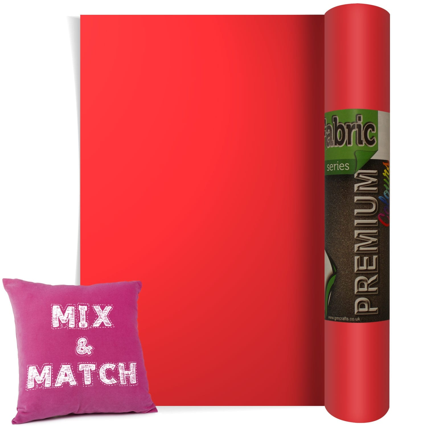Htv Flame Red Heat Transfer Fabric Vinyl 300 Mm X 1 Metre
