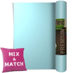 Ice Blue Premium Coloured HTV Textile Film From GM Crafts