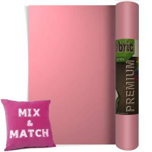 Magenta Premium Coloured HTV Textile Film From GM Crafts