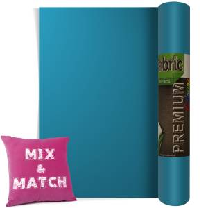 Sapphire Premium Coloured HTV Textile Film From GM Crafts