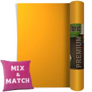 Yellow Premium Coloured HTV Textile Film From GM Crafts