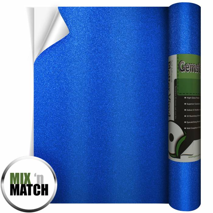 Sapphire Blue Gemstone Vinyl From GM Crafts