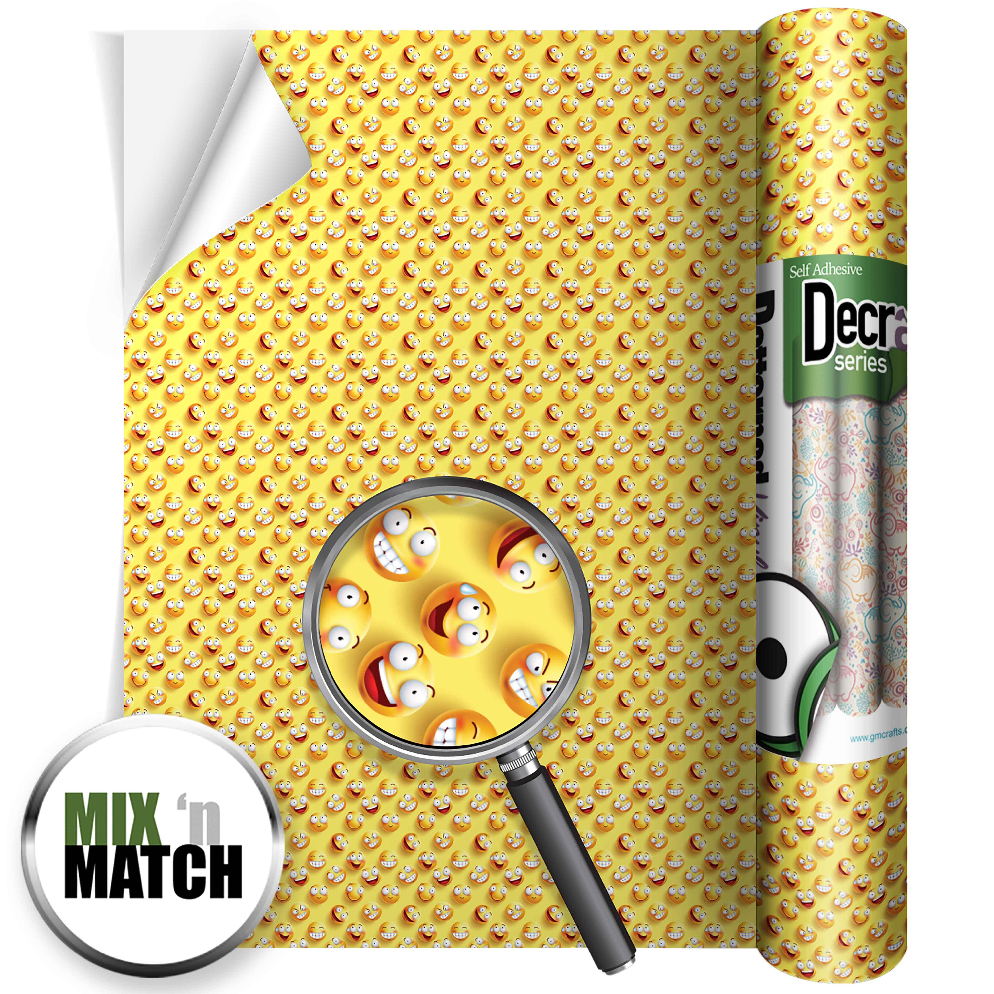 Emoji Yellow Gloss 220mm X 480mm Gm Crafts