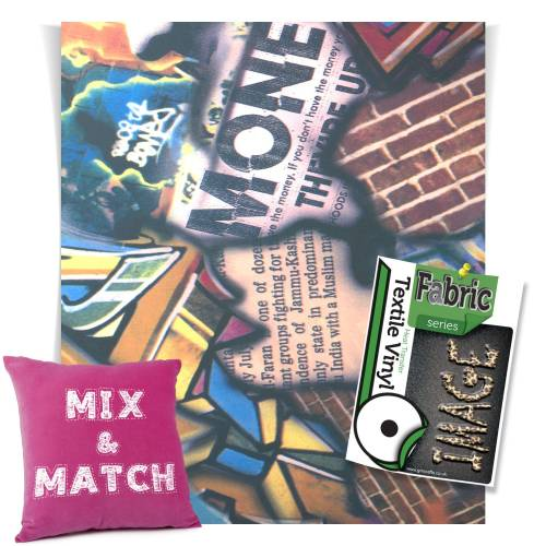 Graffiti Fashion Series HTV Sheets From GM Crafts