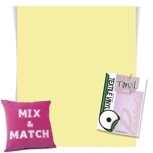 Lemon And Lime Pastel Coloured HTV From GM Crafts