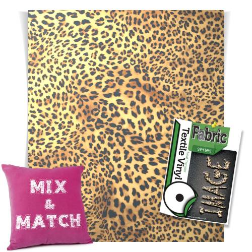 Leopard Fashion Series HTV Sheets From GM Crafts