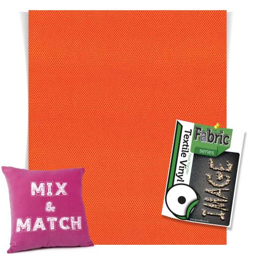 Manta Ray Orange Fashion Series HTV Sheets From GM Crafts