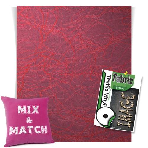 Marble Red Fashion Series HTV Sheets From GM Crafts
