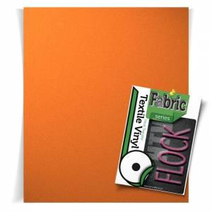 Orange Flock HTV Sheets From GM Crafts