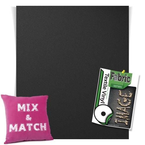 Paint Black Fashion Series HTV Sheets From GM Crafts