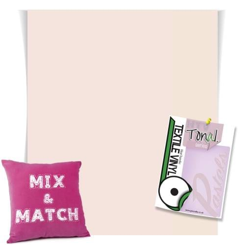 Pale Nutmeg Pastel Coloured HTV From GM Crafts
