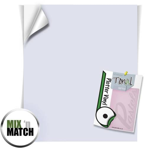 Lavender Coloured Tonal Pastel Self Adhesive Vinyl Sheets