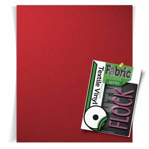 Red Flock HTV Sheets From GM Crafts
